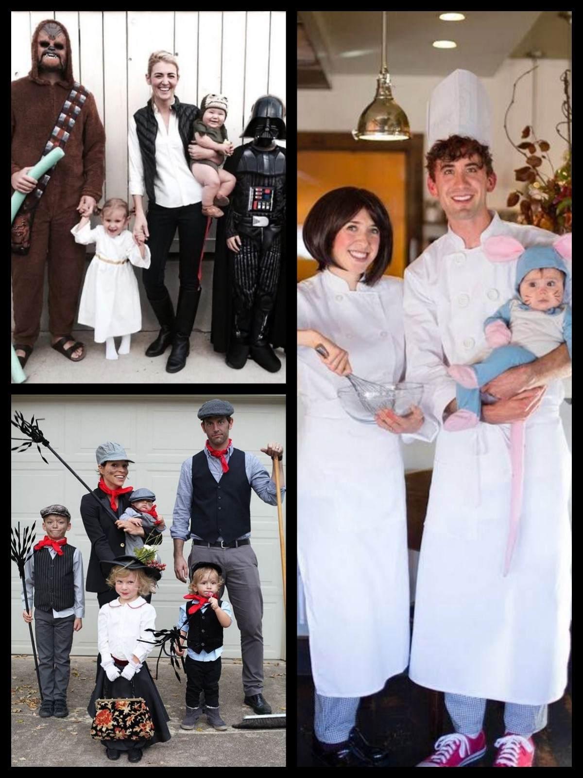 Costumi di carnevale originali per famiglie