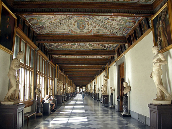 Tour Virtuali Galleria degli Uffizi